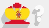 spain monarchy situation poster