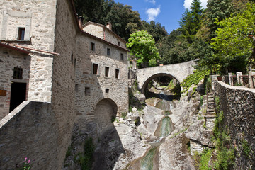 Monastery in Le Celle. Italy.