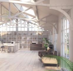Büroflächen-Sanierung (focus)