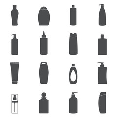 Shampoo & Liquid Soap icon set.