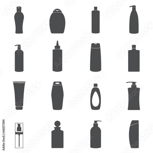 Shampoo & Liquid Soap icon set. - 66057084