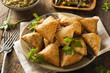 Homemade Fried Indian Samosas - 66057225