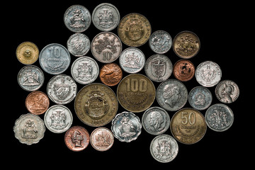 Central South American Caribbean Coins