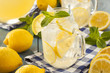 Homemade Refreshing Yellow Lemonade - 66058265