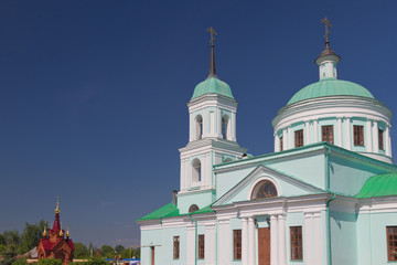 Saint Nikolay temple, village Russian Nikolskoye, Tatarstan
