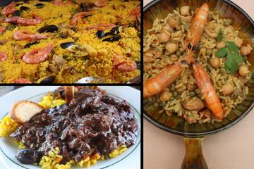 Cuisine Catalane : Gardiane de Taureau -  Paella