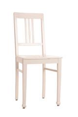 Stuhl weiß freigestellt