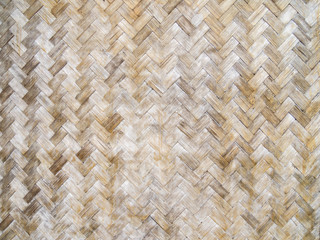 old bamboo weave pattern