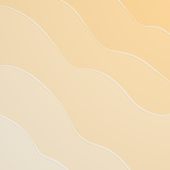 Beach sand background. Vector illustration.