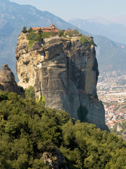 Hanging Monastery of the Holy Trinity in Meteora