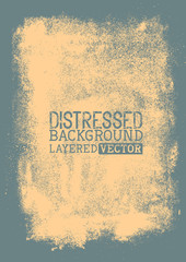 Distressed Vector Background