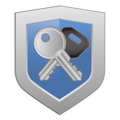 Schlüssel - Schild
