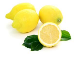 Zitrone, Blätter