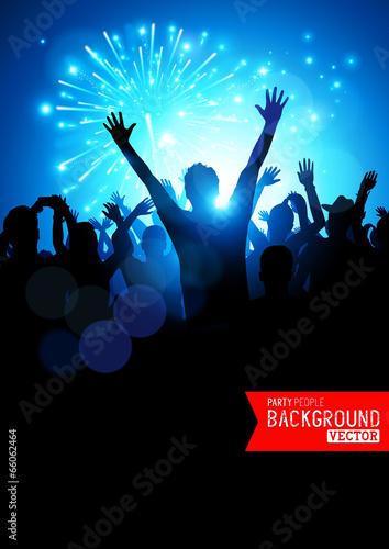 Big Party Crowd - 66062464