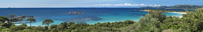 Panorama Plage de Palombaggia Corse Sud