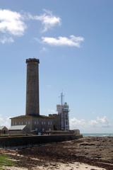 leuchtturm phare d éckmühl, penmarch, bretagne