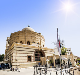 Temple of the Holy great martyr George the victorious in Cairo
