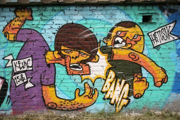 abstract background graffiti