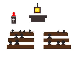 Catholic church icons
