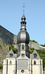 Tower of the Onze-Lieve-Vrouwechurch in Dinant
