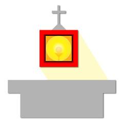 Catholic shrine
