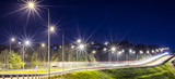 The light trails on the street - 66068054