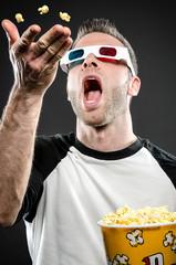 Popcorn toss