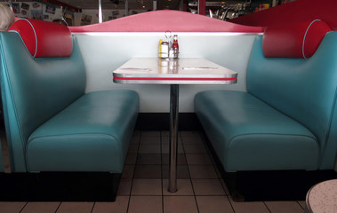Retro Diner Booths