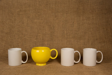 Coffee Mug Background - One Unique Mug