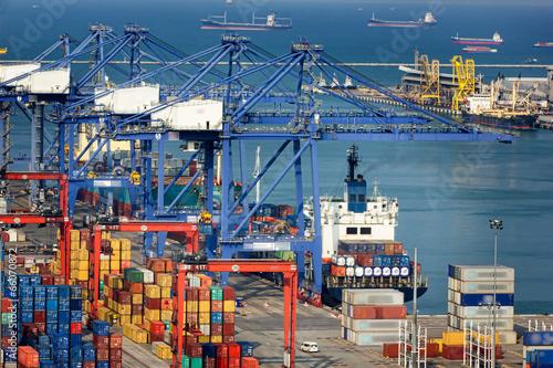 Cargo ships - 66070872