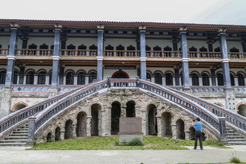 annunciation seminary in bailu town,sichuan,china