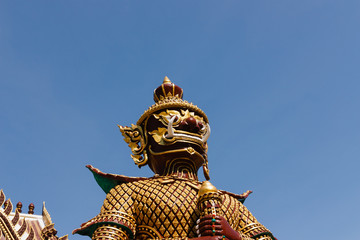 Thai giant statues
