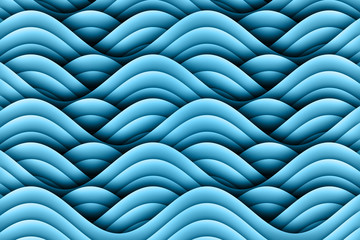 Abstract Art Waves Background Design