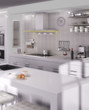 Kitchen in White (focus)
