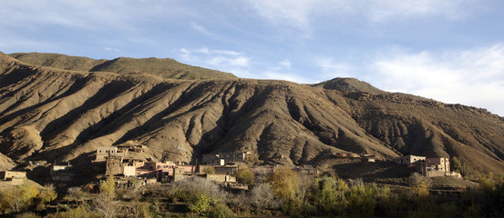 Pastoral Morocco, Rif Mountain Foothills