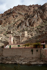 French Mining Town, Atlas Mountains, Morocco