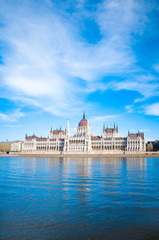 Parliament in Budapest, Hungary, Europe
