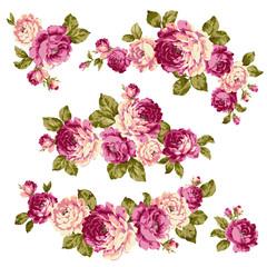 ロココ調のバラ