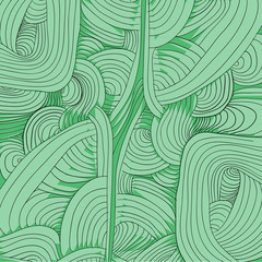 free lines knuckled on green background