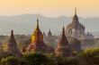 Many temple in Bagan Area , Myanmar.