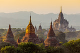 Many temple in Bagan Area , Myanmar. - 66084070