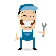 mechaniker werkstatt service reparatur wartung