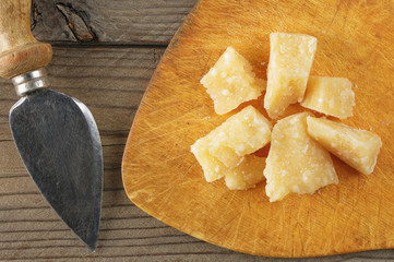 cheese parmigiano still life