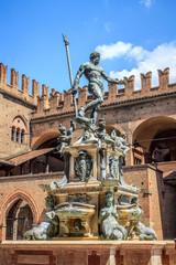 Bologna - fontana del Nettuno in Piazza maggiore