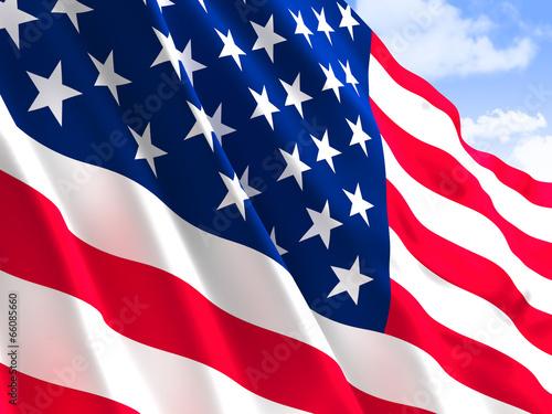 usa flag - 66085660