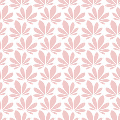 Retro Seamless Pattern Water Lily Rose