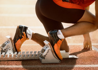 Sprinter feet