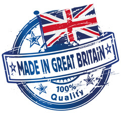 Stempel Made in Great Britain