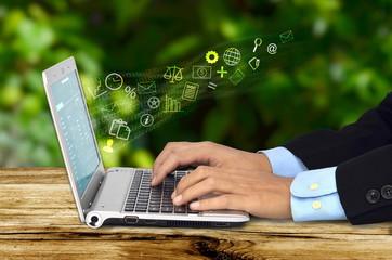 Internet worker