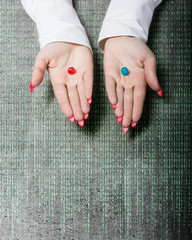 pills blue or red
